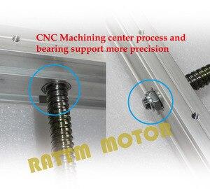 Image 5 - Gravador de roteador cnc, gravador, máquina de fresagem, kit de moldura, parafuso esférico e 80 braçadeira do eixo do alumínio