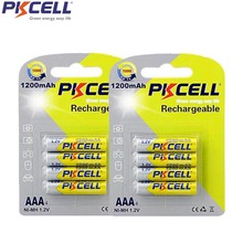 2 Blister Cards  Ni-MH AAA 1200mAh 1.2V Rechargeable Battery for camera,toys, etc