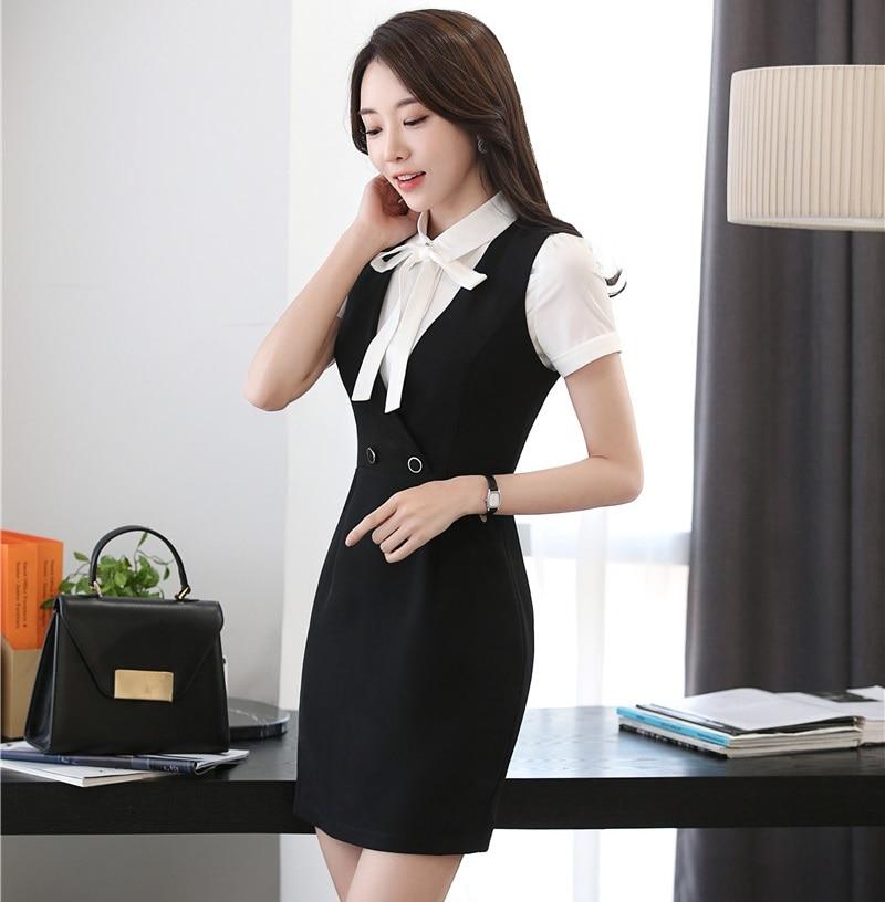 New Fashion Slim Spring Summer Womens Dresses Formal Ol Styles