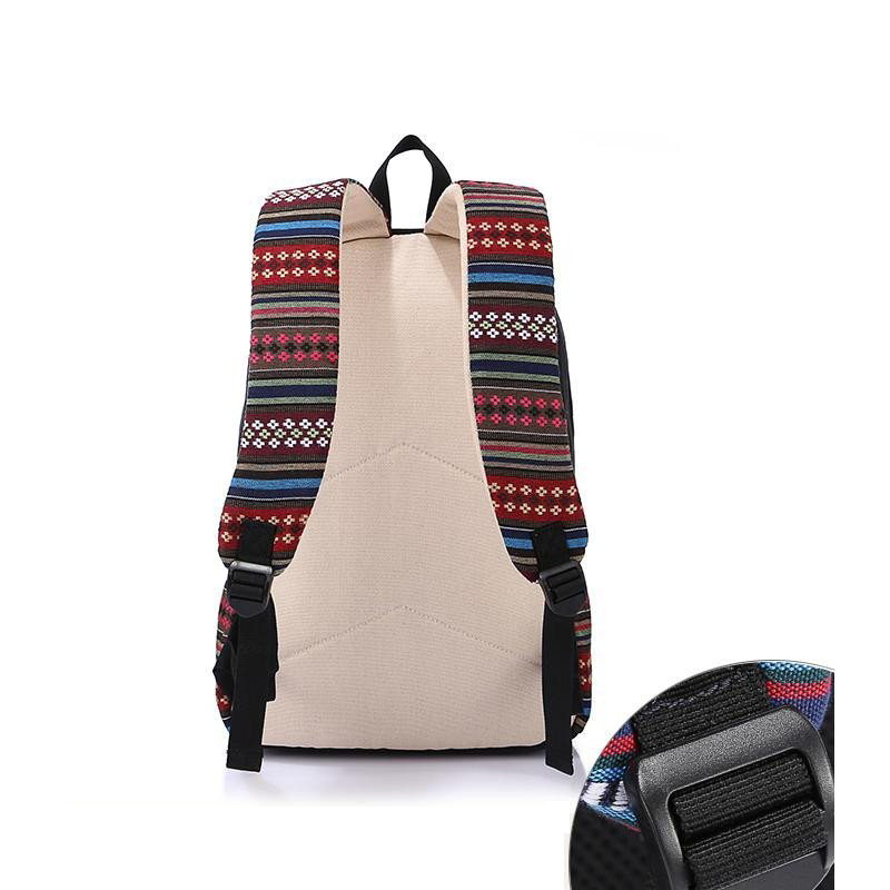 bdc7c9e6f3 Sunborls Travel School Backpacks Korean National Wind Vintage Canvas  Printing Backpack Women Female Teenage Girls Wholesale Bags-in Backpacks  from Luggage ...