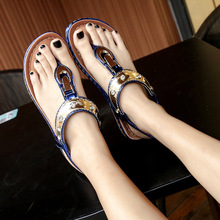 2019 New Luxury Shoes Women Designers Sandals Flats Casual Gladiator Elastic Band Solid Plus Size 35-42 High Quality