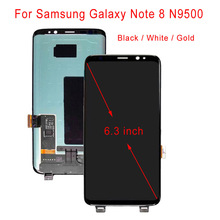 цена на STARDE Replacement LCD For Samsung Galaxy Note 8 N9500 LCD Display Touch Screen Digitizer Assembly 6.3