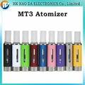 E cigarro MT3 atomizador EVOD BCC MT3 EVOD Clearomizer MT3 atomizador 2.4 ml evaporador para E cigarro Kits E cig MT3 Clearomizer