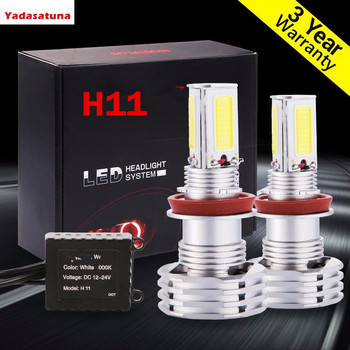 2x H8 H11 LED Faro Bombillas Alquiler de luces LED 9200Lm LED...