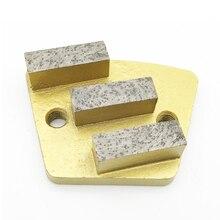 Трапециевидная металлическая Алмазная бетонная шлифовальная площадка скребок диск металлический скребок шлифовальный станок