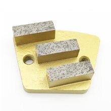 Трапециевидная металлическая Алмазная бетонная шлифовальная