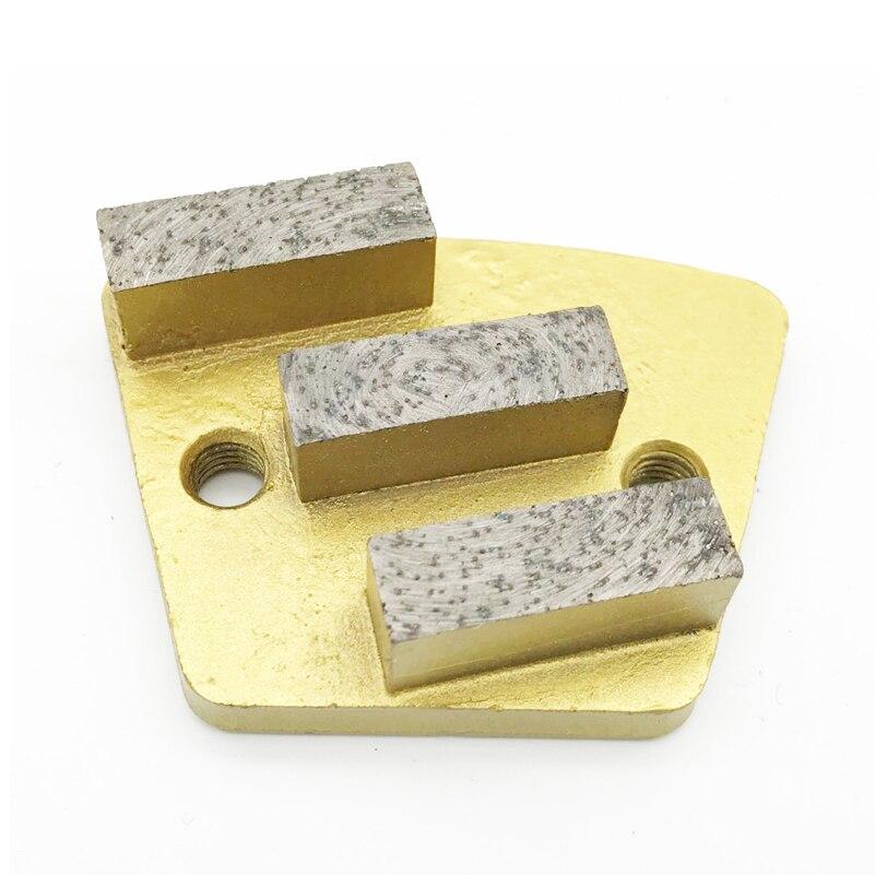 Trapezoid Metal Diamond Concrete Grinding Pad Scraper disc Metal Bond grinder