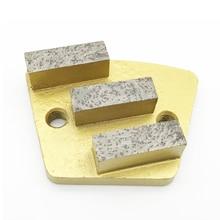 Trapezoid Metal Diamond Concrete Grinding Pad Scraper disc Bond grinder