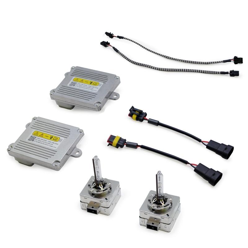 TPTOB démarrage rapide HID xénon Kit OS ram Ballast D1 ampoule pour D1S D3S Auto phare lampe lumière voiture phares ampoules remplacement