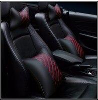 4 Pcs Car Seat Head Neck Rest Support Headrest Pillow Universal Car Styling