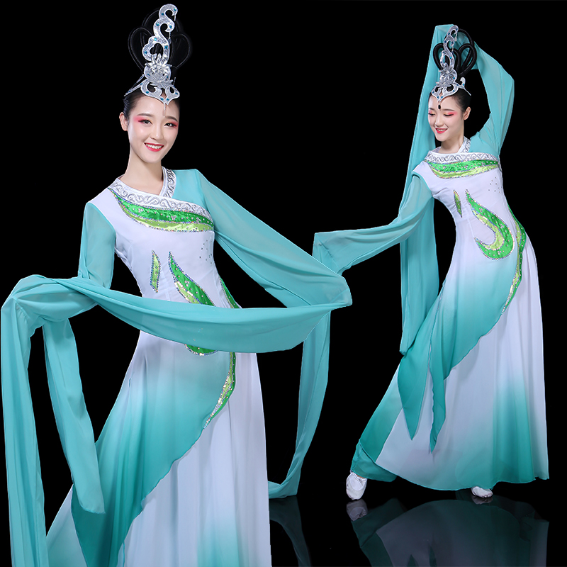 2018 summer ancient chinese hanfu clothing women chinese folk dance costume qing dynasty tradition silk dynasties princess adult