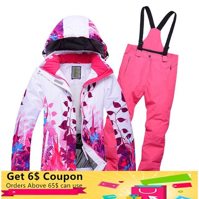 2018 новый открытый детский лыжный костюм зимние От 8 до 14 лет для мальчиков и девочек непромокаемые теплые однобортные флисовые лыжные куртки брюки