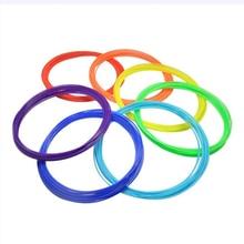 Caliente venta 10 unids 1.75 mm filamento de impresión ABS modelado estereoscópica For 3D dibujo de la pluma de la impresora