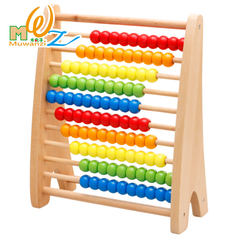 Mwz Rainbow Abacus Educational Toy For Kids Children S