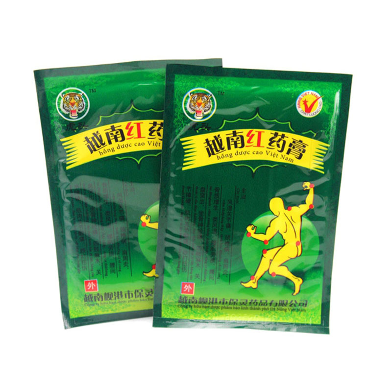 24 Piece3 Bags Health Care Product Vietnam Red Tiger Balm Plaster Muscular Pain Stiff Shoulders Pain Relieving Patch Relief