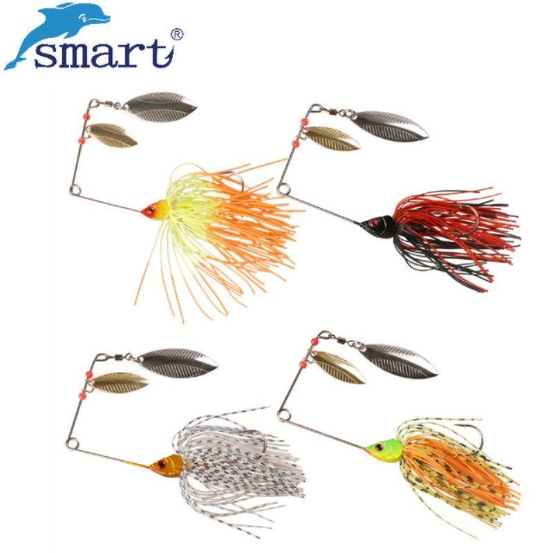Back To Search Resultssports & Entertainment Orderly Smart 4pcs/lot 15g Jig Head Fishing Lure Metal Blade And Silicone Skirt Spinner Bait Fish Hook Isca Artificial Pesca Leurre Fishing Lures