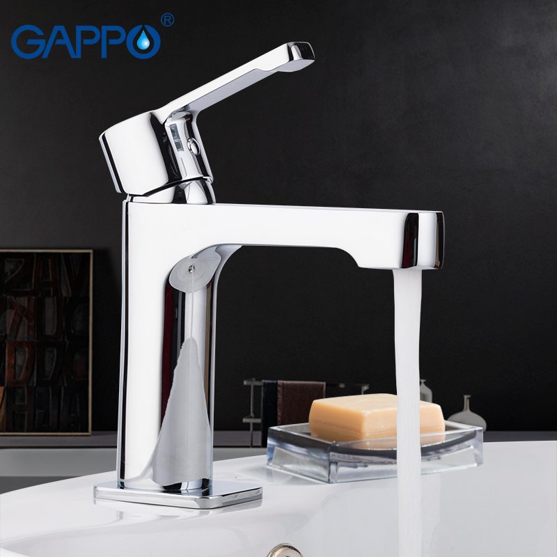 GAPPO Basin Faucets griferia chrome mixer tap bathroom brass basin faucet sink mixer washbasin water faucets