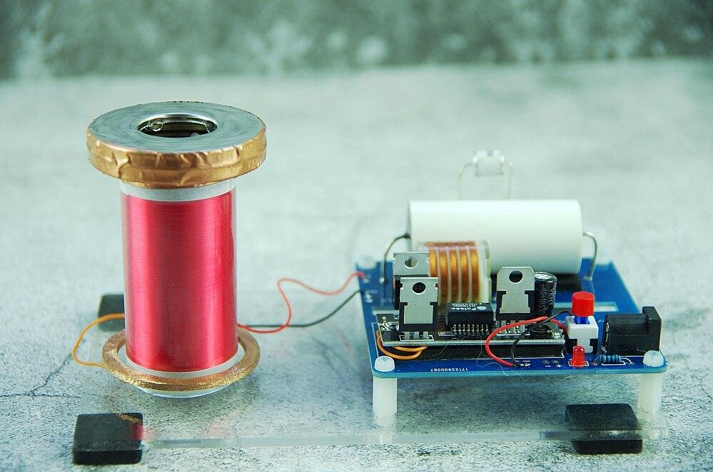 Mini SGTC étincelle bobine Tesla incroyable générateur clignotant bricolage KITS bricolage électronique