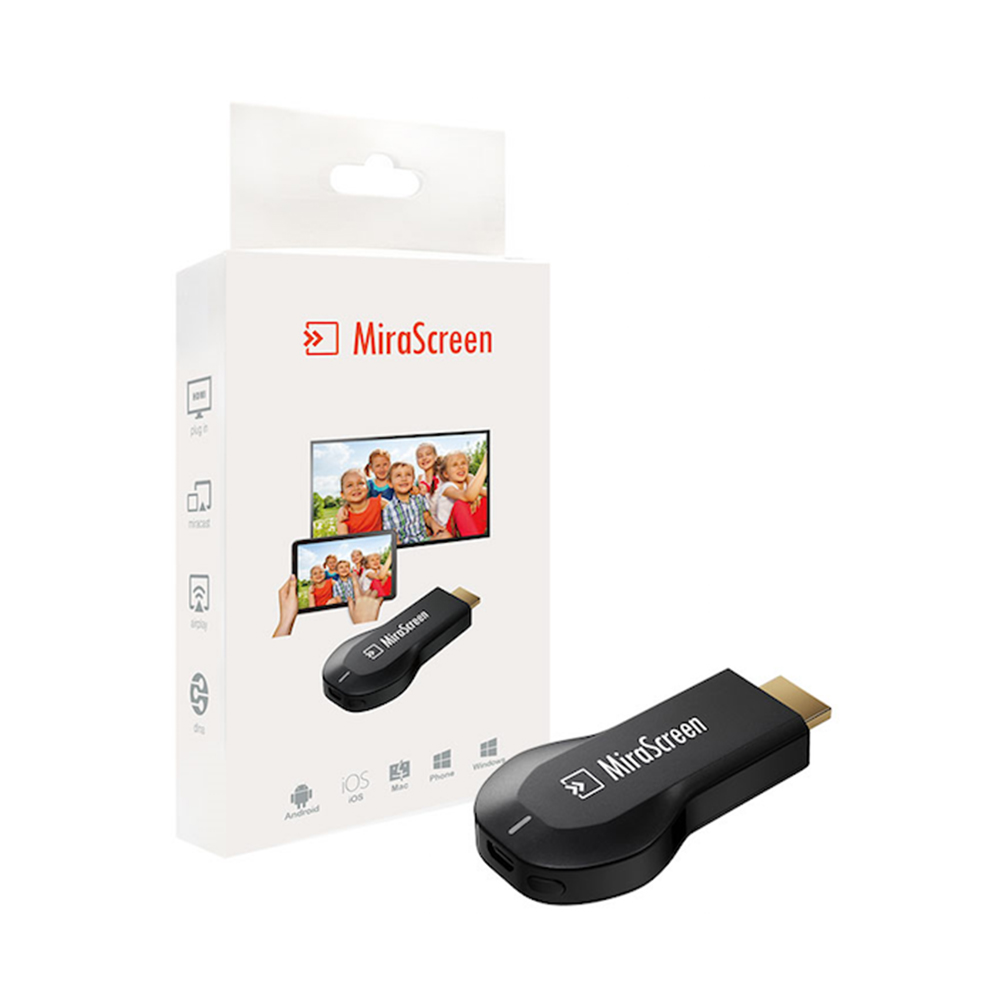 mirascreen 2 4g ota tv stick stick dongle hdmi wifi receiver support support ios android. Black Bedroom Furniture Sets. Home Design Ideas
