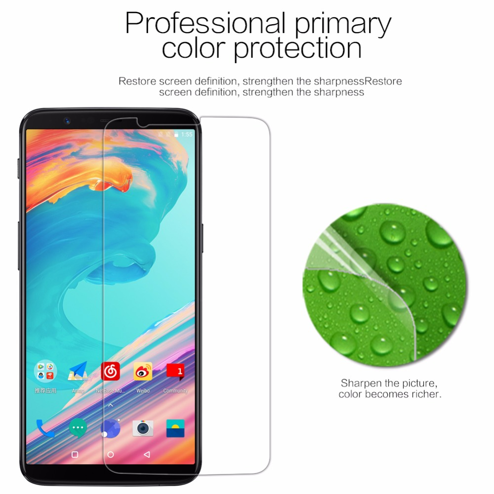 NILLKIN For oneplus 5t screen protector one plus 5t Super HD Clear screen protector Lots one plus 5 t screen film 6.01 inch