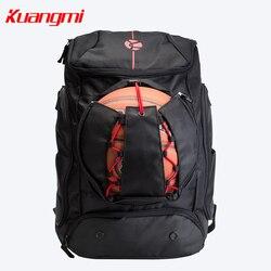 Kuangmi Basketbal Voetbal Tas 42 L 30 L Zakken Training Rugzak pak voor man vrouwen en tiener
