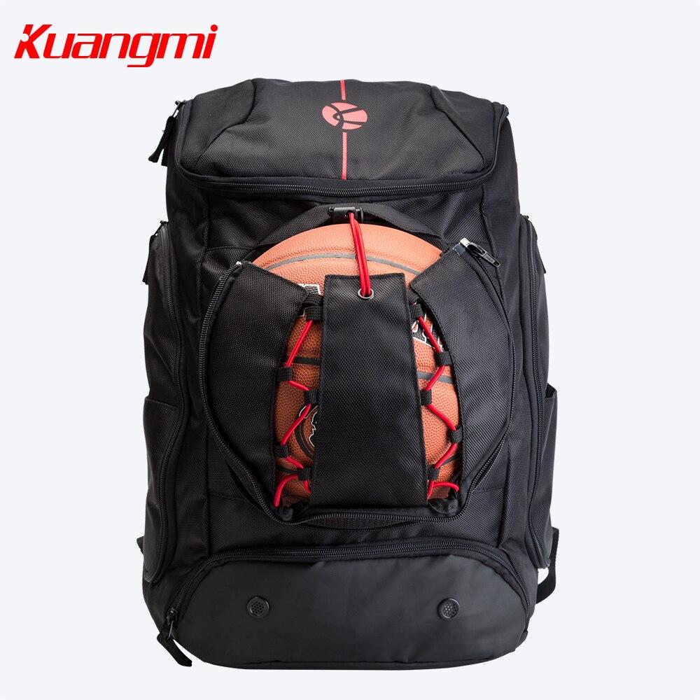 Kuangmi baloncesto fútbol bolsa 42 L 30 L entrenamiento bolsas mochila traje para hombre mujeres y adolescentes