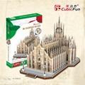Cubicfun 3D Головоломки Игрушки 251 ШТ. Италии Миланский Собор Модель MC210h детский Подарок