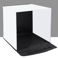 PULUZ 40 x 40cm Photo Studio Box Foldable Photograghy Studio Shooting Soft Box Kits EM88
