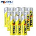 12 Pcs PKCELL AA 2A Bateria 1.2 V Ni-MH 2000 mAh Baterias Recarregáveis Bateria Baterias