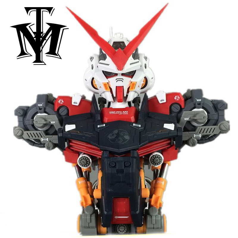 Anime model Assembled Head model 1/35 Astray Red Frame Gundam MBF-P02 Robot brinquedos Puzzle Action Figures hot kids toy gift 1