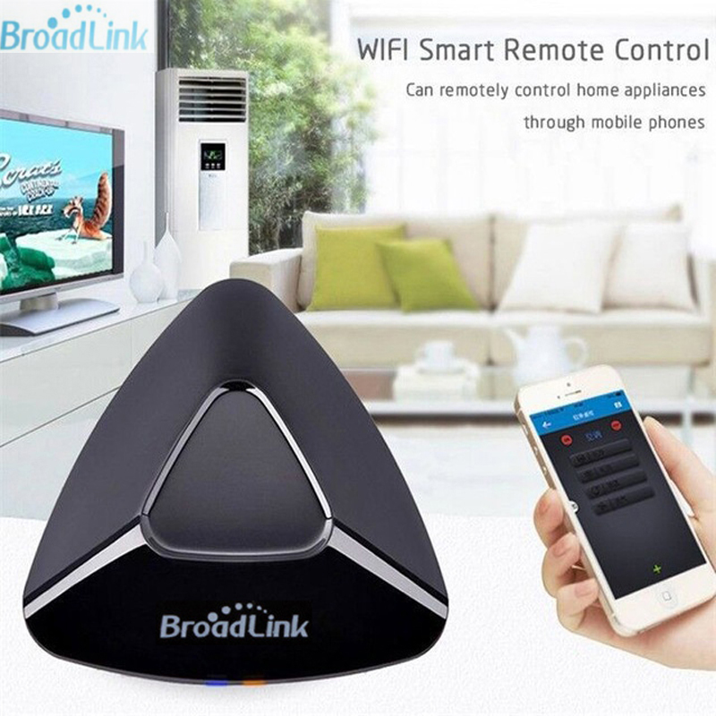 Купить с кэшбэком Broadlink RM PRO + RM33 2019 New Universal Smart Remote Control Smart Home Automation WiFi + IR + RF Switch For IOS Android