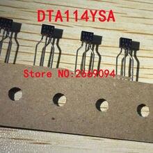 50 PCS/100 PCS DTA114YSA DTA114YS DTA114 A114YS A114 TO92S transistores Digitais (embutido resistores)