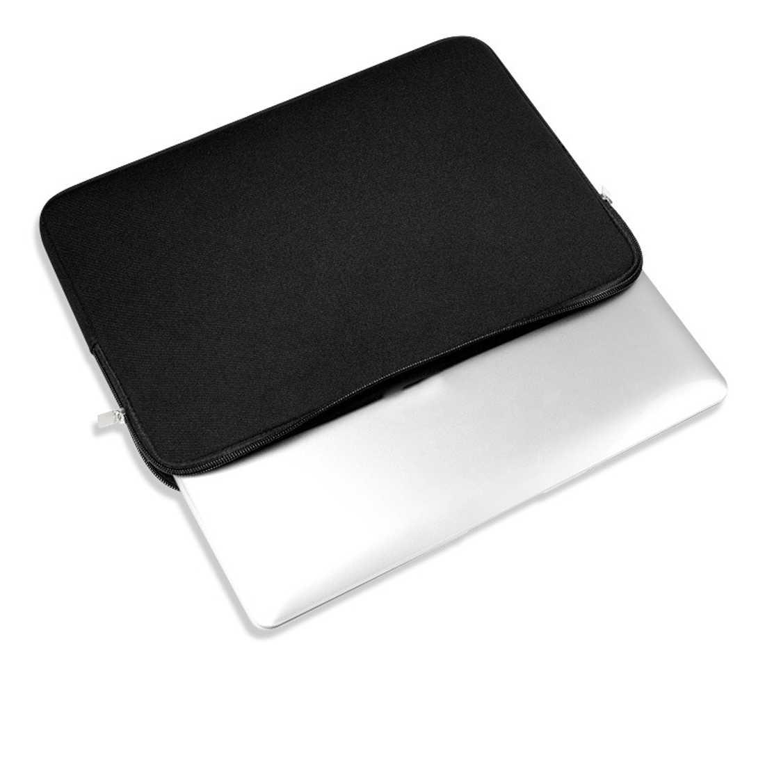"""ホットファッションポータブルネオプレンラップトップノートブックケース女性男性スリーブコンピュータポケット 11 """"15.6"""" Macbook Pro の空気網膜キャリー"""
