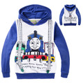Thomas and Friends Girls Boys Hoodies Autumn Clothes Cotton Clothing Kids Sports Minnie Mouse Hooded Sweatshirt vestidos Costume