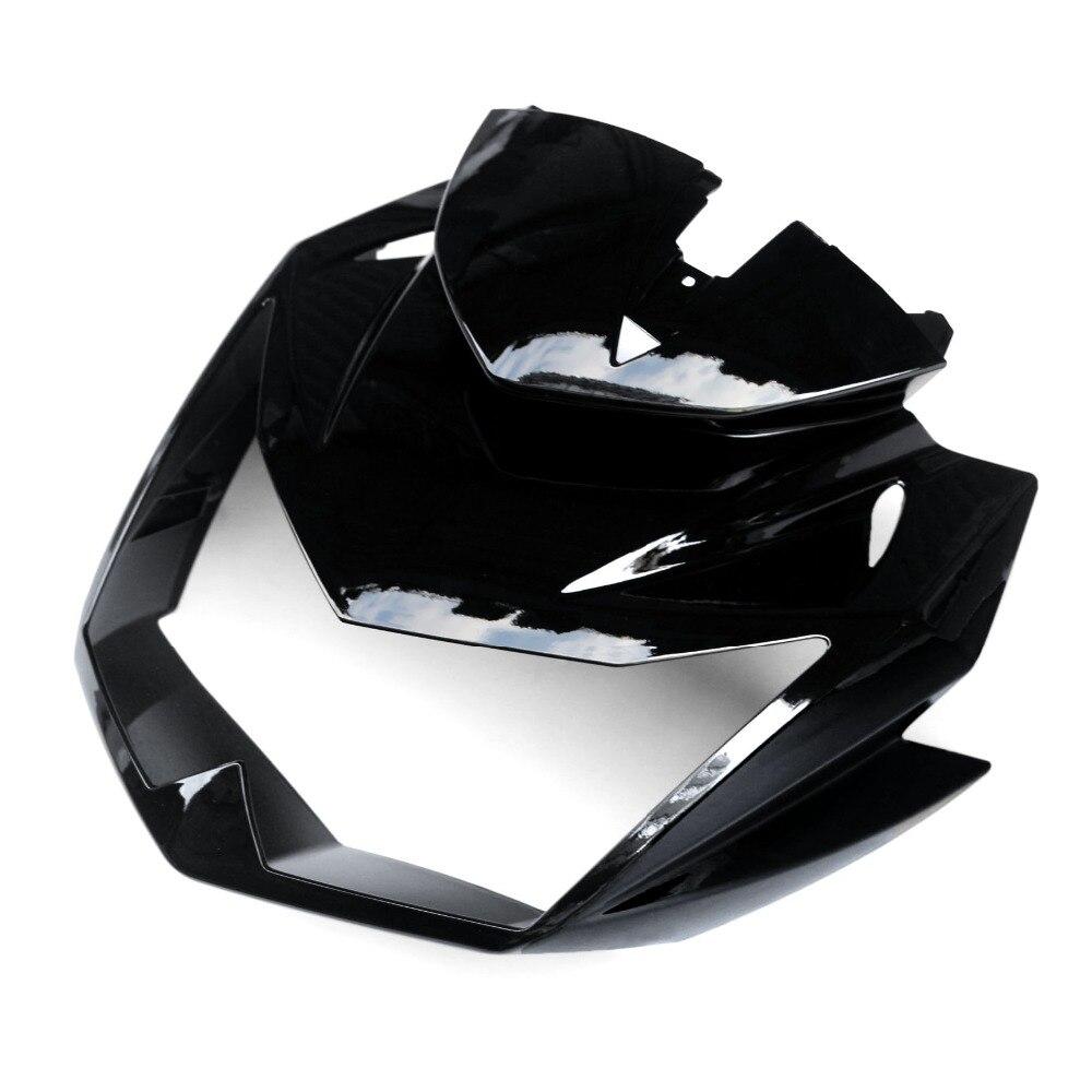 МОТОЦИКЛ ABS инъекции Обтекатели для Передняя Глава обтекателя клобук нос Клобук Для kawasaki Z750 Z-750 2007-2012 zxmt хорошее