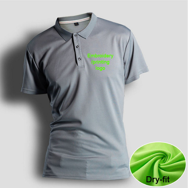 S 4xl Breathable Polo Shirt Vinyl Men Polos Tees Quickly Dry Dri Fit
