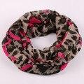 Европейский стиль, Оптовая 4 цветов 2015 Новая мода Горячий продавать Высокое качество Печати Леопарда Шарф Поводка Для Женщин бесконечность шарф