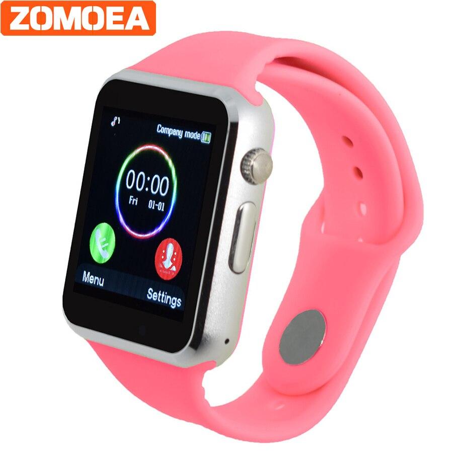 Galleria fotografica Montre Smart Watch A1 Avec Carte Sim Caméra Bluetooth <font><b>Smartwatch</b></font> Pour Android huawei Dispositifs Portables Whatsapp Russe horloge Pour Xiaomi