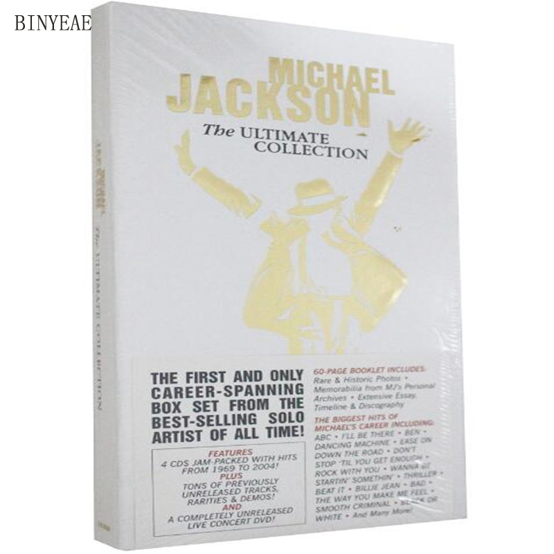 Free Shipping: Michael Jackson: The Ultimate Collection Box The Ultimate 5CD Seal ...