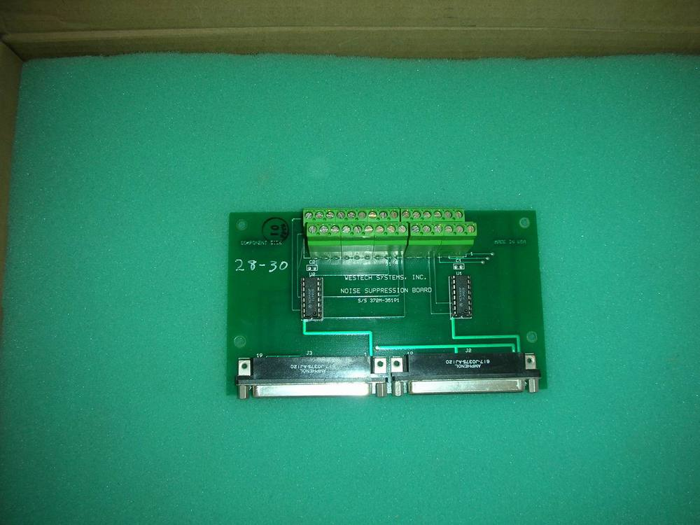1PC USED SYSTEMS 372M-36191 NOISE SUPPRESSION BOARD WESTECH thought suppression