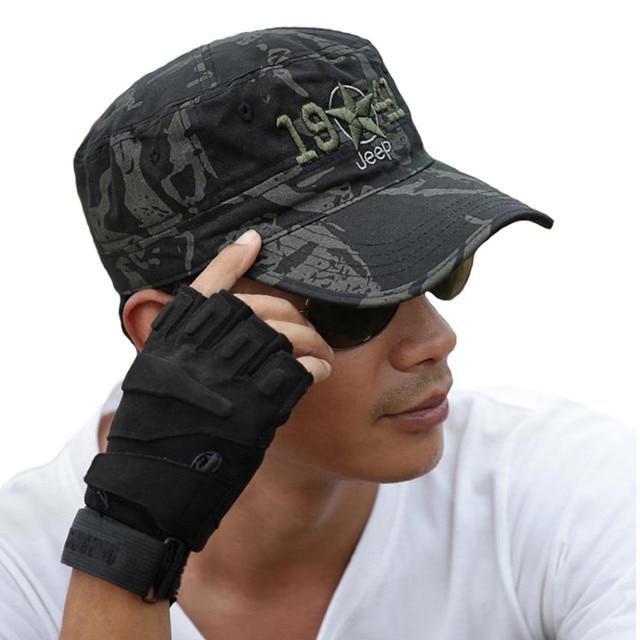 a8a2d58df60cc Militar del Ejército tapas táctico Airsoft francotirador Gorras camuflaje  sombreros para las fuerzas aliadas Comandante comando
