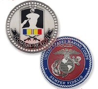 Top Quality custom combat action military coin marine medals U.S. Army Crafts Wholesale custom eagle coins medals