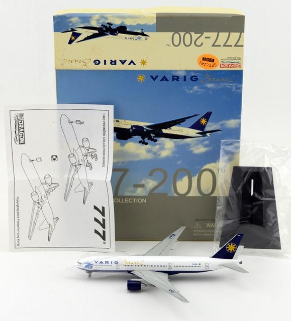"Dra Scale Models 1: 400 55641 Embraer 777-200ER ""Otto Meyer"" 75 anniversary Favorites Model"