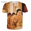 2017 Brand Clothing 3D T Shirt Men The Human Centipede Printing 3D T Shirt Mens T Shirts Slim Fitness Hip Hop Funny T Shirts
