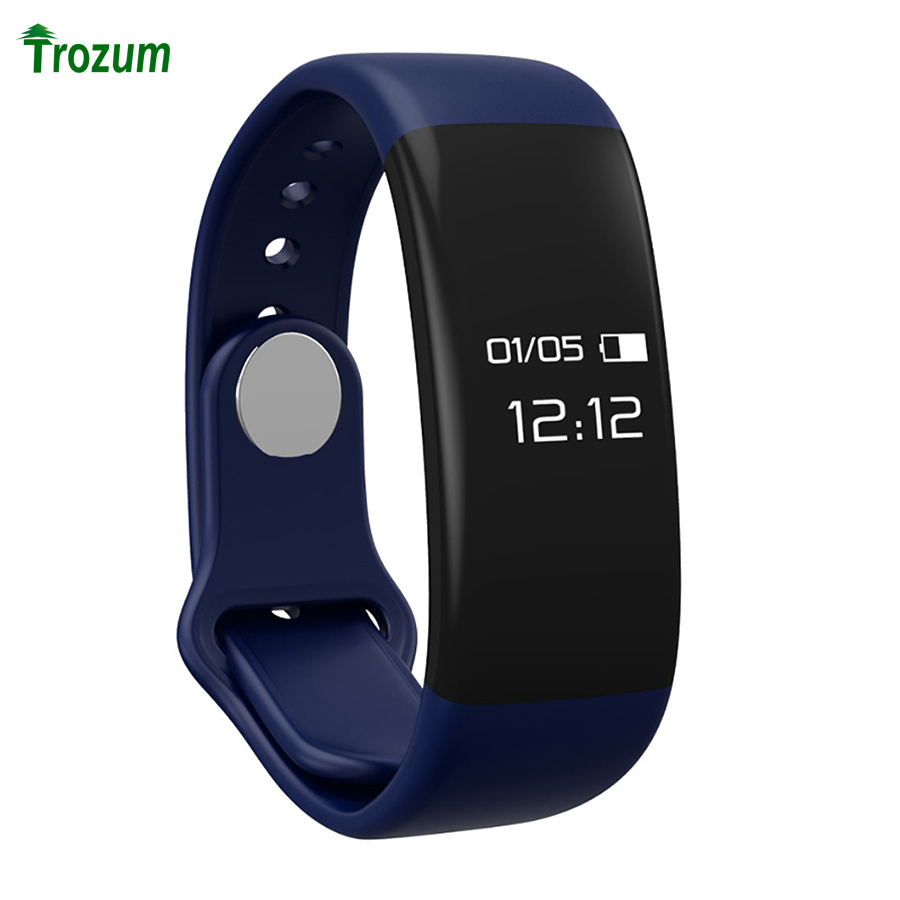 TROZUM H30 smart Bracelet Heart Rate sleep health monitoring exercise step touch Android IOS silicone wristband