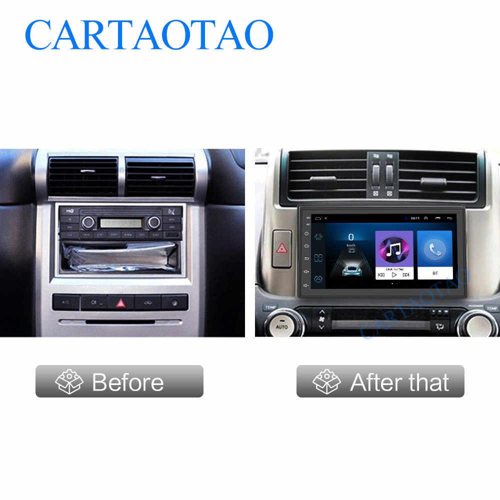 2 din 7 cal radio samochodowe 2GB + 32GB Android 8.1 nawigacja gps z bluetooth wideo samochodowe stereo odtwarzacz multimedialny dla uniwersalny gps