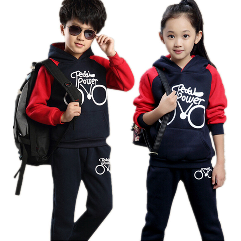 Children Clothing set Autumn Girls set Full Sleeve Sweatshirt Boys Tracksuit Hoodies Pant Kids Clothes Boy Set 3T-12T
