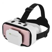 VR SHINECON VR okulary 3D wirtualna rzeczywistość okulary gotowy gracz jeden Easter Egg filmy gry dla 4 0-6 0 inch smartphone Universal tanie tanio Lornetki Szkło 3D Brak Smartfonów Wciągające W pakiecie 1 SC-G05A Podwójny 3D VR Tylko okulary