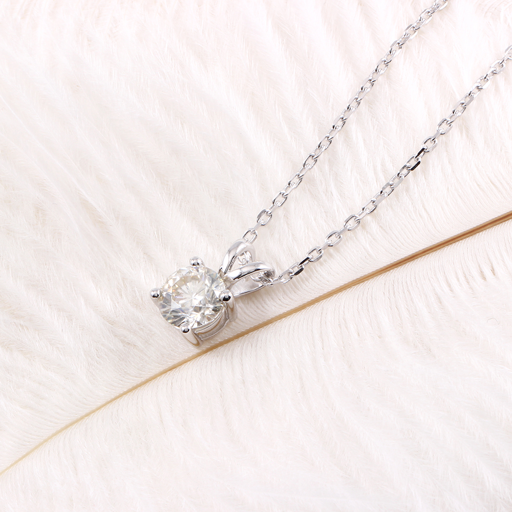diamond silver necklace (7)