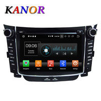 KANOR 2 Din 7Android 8.0 4+32G 2din Car DVD Radio GPS For Hyundai I30 Multimedia Player GPS Navigation Bluetooth TV WIFI Radio